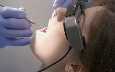 Gafas de realidad aumentada para tu visita al dentista